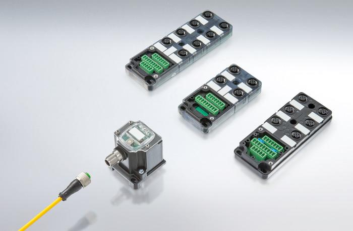 LogiCap Murrelektronik zgamą podstawowych modułów pasywnych