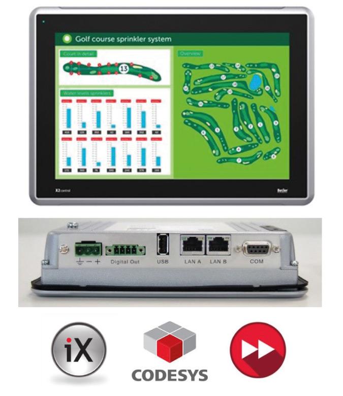 Rys. 1. X2 Control Beijer Electronics
