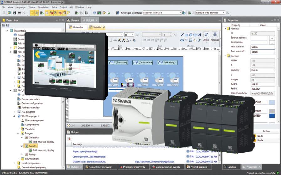 Rys. 2. Panel Cloud isterownik Micro PLC M13C