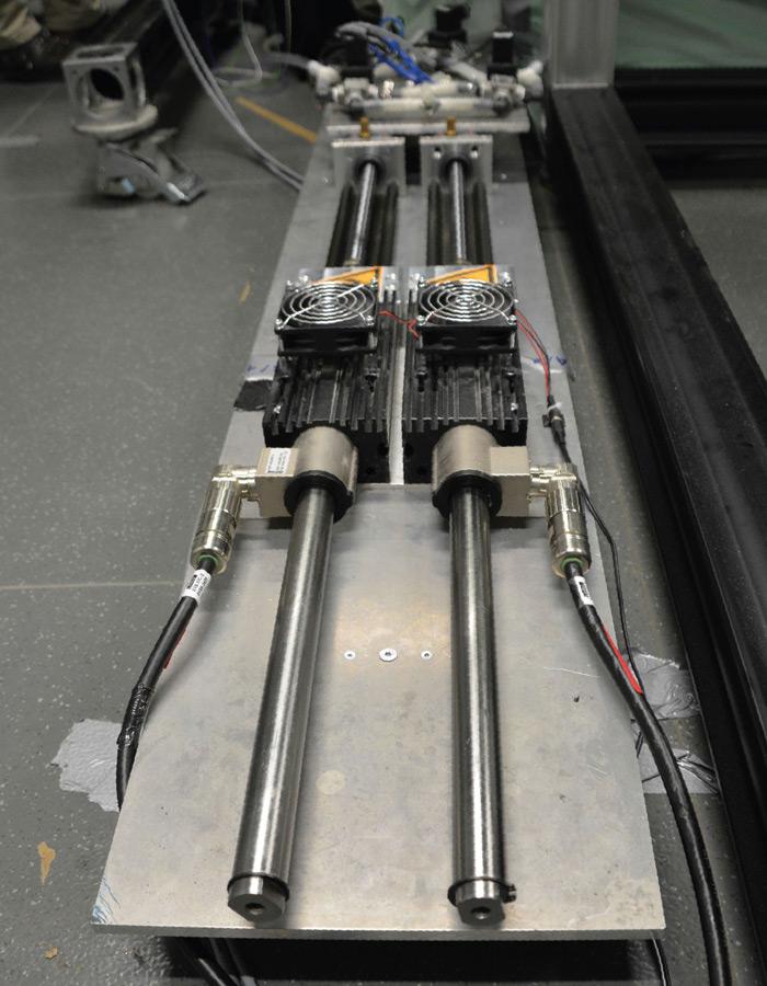 Elastyczne iwydajne: silniki liniowe LinMot stanowią podstawę do symulacji przepływów oddechowych ikrążeniowych