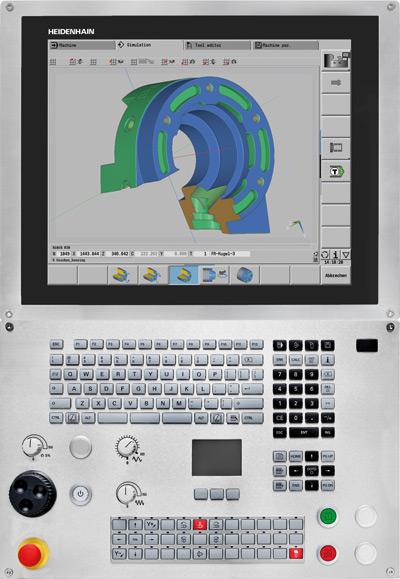 "CNC Pilot 640 zTouch Screen 19"""