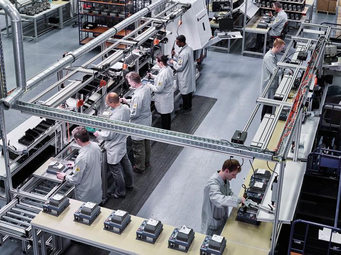 30 lat kompetencji – NORD DRIVESYSTEMS produkuje elektroniczną technologię napędu wAurich, wDolnej Saksonii, od początku lat 80. ub w.