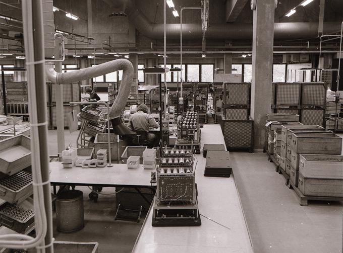 Zakłady produkcyjne firmy Danfoss wGraasten, Dania, 1968 rok