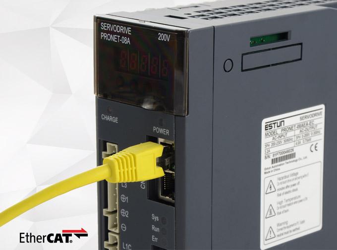 Fot. 3. Seria Pronet zwbudowaną komunikacją EtherCAT