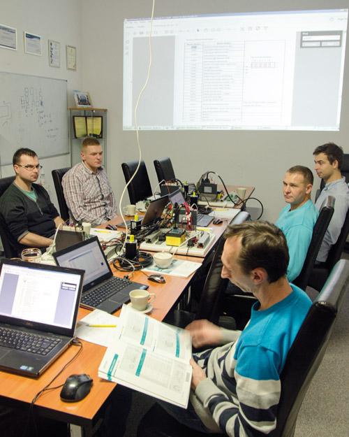 Fot. 8. Szkolenia wfirmie Multiprojekt