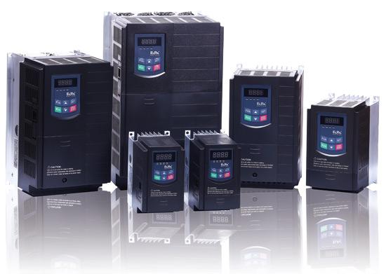 Przemienniki częstotliwości E-800 oraz E-2000