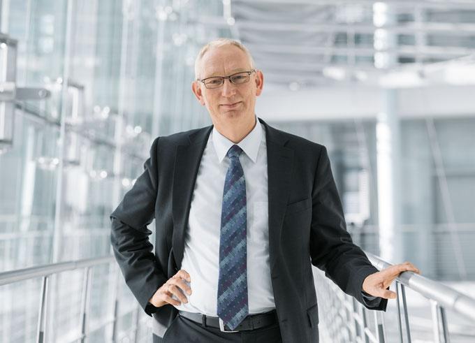 Prof. dr Peter Post, szef działu badań i rozwoju  Festo AG & Co. KG
